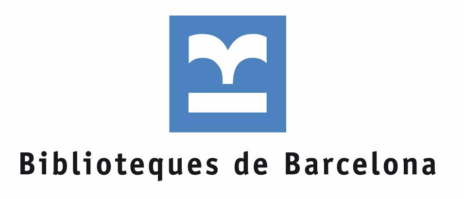 Biblioteques de Barcelona logotipo